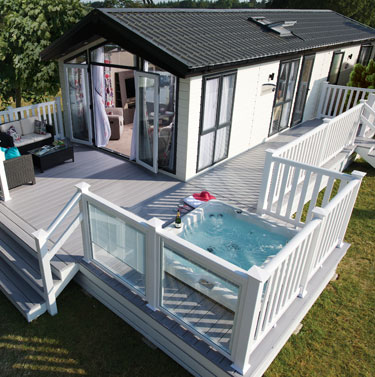 Park Leisure decking for your hot tub