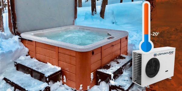 Energy Efficient, Spa Water Heating At -20 Degrees Celsius